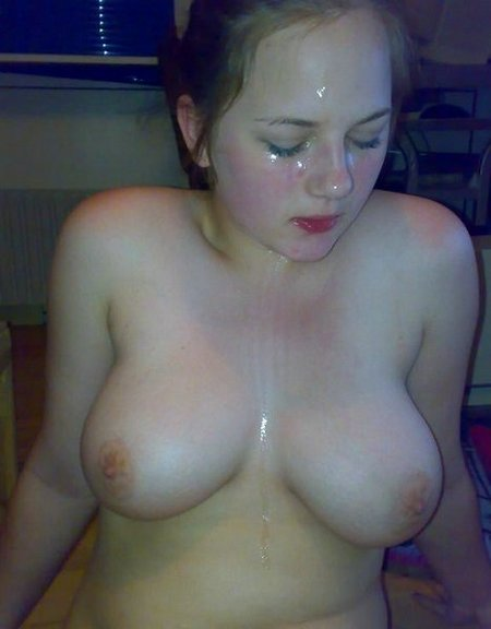 Cum On Face And Tits 101