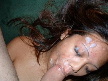 huge facial girlfriend